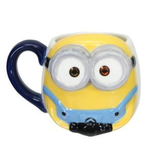 マグカップ 磁器製 フェイス マグ ミニオンズ ボブ サンアート ユニバーサル映画|velkommen