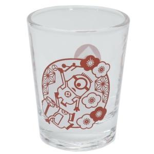 ショットグラス ミニ ガラス タンブラー ミニオンズ 梅 サンアート ユニバーサル映画 直径5×6.3cm velkommen