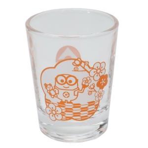 ショットグラス ミニ ガラス タンブラー 桜 ミニオンズ ユニバーサル映画 サンアート 直径5×6.3cm コレクション雑貨 velkommen