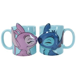 ペア マグカップ 2個セット ペア食器 ディズニー スティッチ&エンジェル サンアート 新生活準備 キャラクター|velkommen