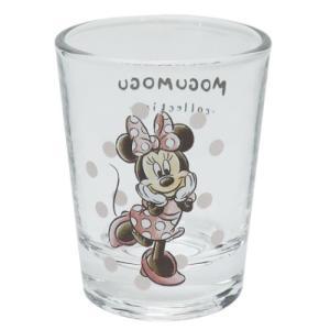 ショットグラス ミニ ガラス タンブラー ミニーマウス ディズニー MOGUMOGUシリーズ サンアート 直径5×6.3cm velkommen