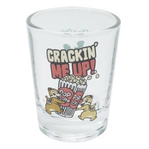 ショットグラス ミニ ガラス タンブラー チップ&デール HIPシリーズ サンアート ディズニー velkommen