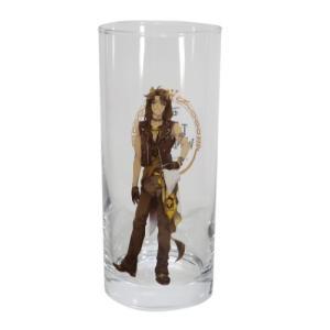 グラス タンブラー ガラス製 ロンググラス ツイステッドワンダーランド ディズニー レオナキングスカラー サンアート 390ml velkommen