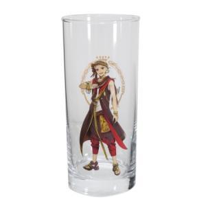 グラス タンブラー ガラス製 ロンググラス ツイステッドワンダーランド カリムアルアジーム ディズニー サンアート velkommen