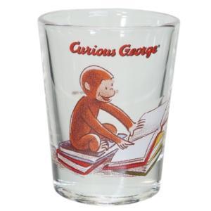 ショットグラス ミニグラス おさるのジョージ クラシックジョージ 本 サンアート 50ml プレゼント かわいい velkommen