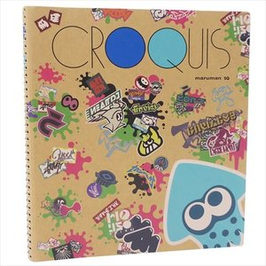 お絵かき帳 クロッキーブック スプラトゥーン2 グラフィティ 三英貿易 nintendo