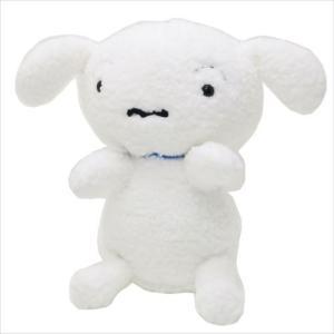 プラッシュドール M ぬいぐるみ クレヨンしんちゃん シロ 抱っこポーズ 三英貿易 ギフト雑貨 34cm アニメキャラクター velkommen