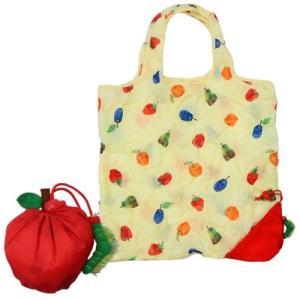 エコバッグ ショッピングバッグ はらぺこあおむし りんご サンアロー エリックカール velkommen