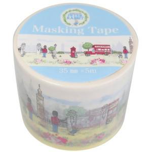 25mm マステ マスキングテープ ピーターラビット ロンドン S&Cコーポレーション DECOテープ デコレーション 絵本キャラクター|velkommen