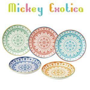 食器ギフトセット アソートプレート5枚セット ミッキーマウス エキゾチカシリーズ ディズニー 三郷陶器 16cm中皿×5枚 ギフト雑貨 velkommen