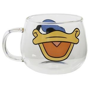 耐熱 ガラス マウス マグ マグカップ ドナルドダック ディズニー 三郷陶器|velkommen