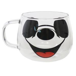 マグカップ 耐熱 ガラス マウス マグ ミッキーマウス ディズニー 三郷陶器 420ml ギフト雑貨|velkommen