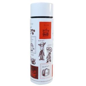 保温保冷 水筒 ポケット ステンレスボトル トイストーリー ディズニー ブラウン 三郷陶器 140ml|velkommen