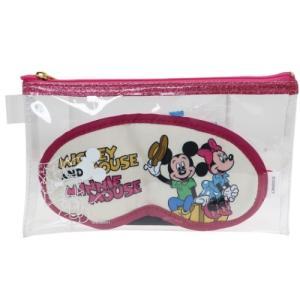 アイマスク & 耳栓 セット ケース付き トラベル雑貨 ディズニー ミッキー&ミニー 粧美堂|velkommen