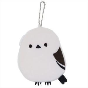 ぬいぐるみポーチ ポーチ シマエナガ 日本の動物 セキグチ コインケース 可愛い 鳥 velkommen