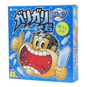 箱入り メモ ガリガリ君 メモ帳 ソーダ サカモト おやつマーケット