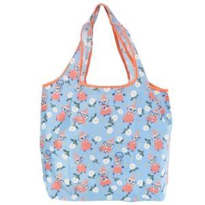 エコバッグ くるくる ショッピングバッグ 北欧 ムーミン リトルミイ 小さいお花 スモールプラネット お買い物かばん|velkommen