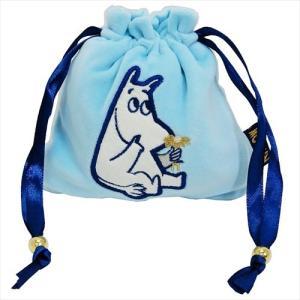 マシュマロきんちゃくポーチ 巾着袋 ムーミン Moominお花 北欧 スモールプラネット かわいい ギフト雑貨 キャラクター|velkommen