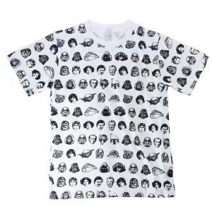 キャラクター Tシャツ T-SHIRTS スターウォーズ フェイスパターン スモールプラネット Mサイズ Lサイズ velkommen