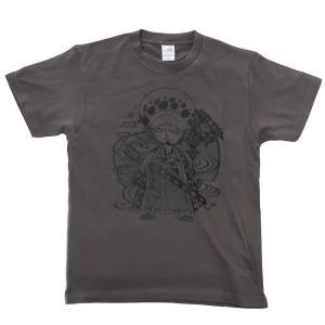 キャラクター Tシャツ T-SHIRTS ワンピース ワノ国 ロー ONE PIECE スモールプラネット velkommen