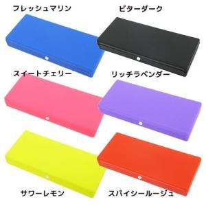プラペンケース ペンケース POPLA ブラック ブルー ピンク パープル レッド イエロー ステッドファスト 筆箱|velkommen