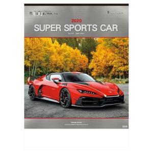 カレンダー 壁掛け 2020年 フォト スーパースポーツカー 写真 車 インテリア|velkommen