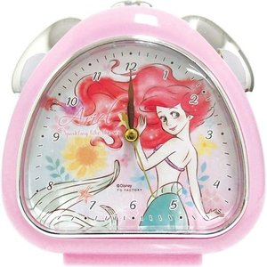 置時計 おむすびクロック リトルマーメイド アリエル ディズニープリンセス グラフィティ 2 ティーズファクトリー 新生活準備 インテリア雑貨 キャラクター|velkommen
