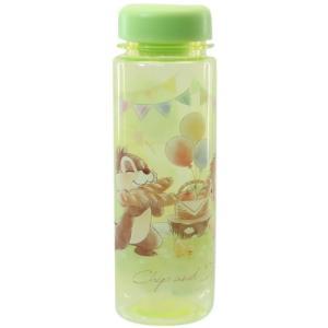クリアボトル 直飲み 常温 水筒 ディズニー チップ&デール サニーデイズ ティーズファクトリー 500ml プレゼント|velkommen