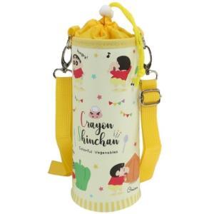 保温 保冷 ボトルケース ペットボトルカバー L クレヨンしんちゃん  ティーズファクトリー ペットボトルケース アウトドア雑貨 かわいい 女の子 小学生 子ども velkommen