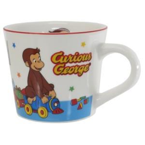 マグカップ カラーラインマグ おもちゃ おさるのジョージ ティーズファクトリー プレゼント|velkommen