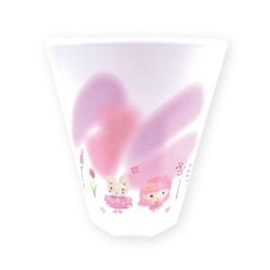 プラコップ W プリント メラミンカップ キキ&ララ&マロンクリーム&シナモロール ナチュラルフォレスト ティーズファクトリー サンリオ|velkommen