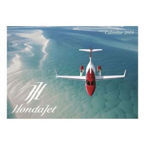 カレンダー 2019 年 壁掛け Hondajet ホンダジェット 飛行機 10月中旬発売予定|velkommen