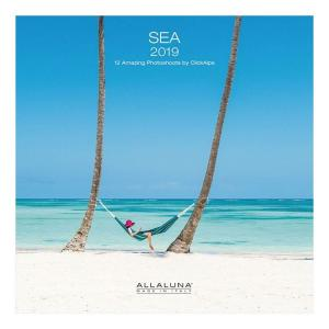 カレンダー 2019 年 壁掛け SEA 海 輸入版 風景 写真 10月上旬発売予定|velkommen