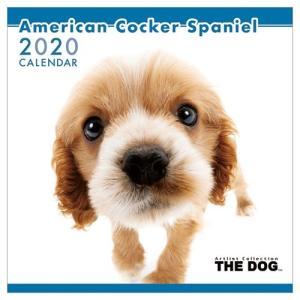 アメリカンコッカースパニエル いぬ 令和2年暦 2020年 カレンダー 壁掛け THE DOG トライエックス 60×30cm|velkommen
