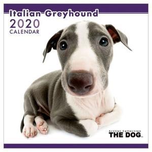 イタリアングレイハウンド いぬ 令和2年暦 2020年 カレンダー 壁掛け THE DOG トライエックス 60×30cm|velkommen