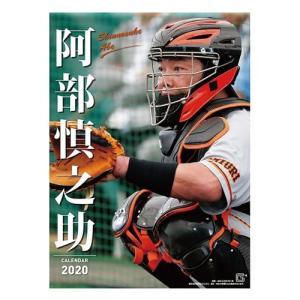 阿部慎之助 プロ野球 令和2年暦 2020年 カレンダー 壁掛け 読売巨人ジャイアンツ トライエックス B2サイズ|velkommen