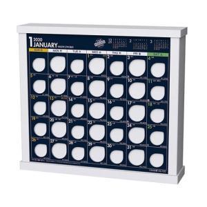 卓上 ザ10万円カレンダー 2020年 カレンダー 令和2年暦 実用 貯金箱 23×26cm 9月中旬発売予定|velkommen