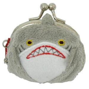 プチガマグチコインケース 水族館 サメ アニマルパーク がま口小銭入れ プレゼント|velkommen