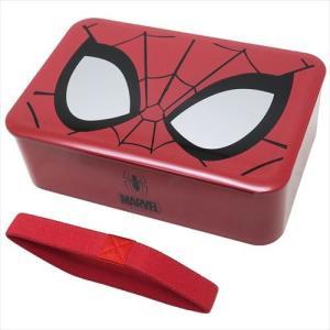 お弁当箱 漆器一段ランチボックス コスチュームアート スパイダーマン マーベル ヤクセル 600ml 日本製 キャラクター|velkommen