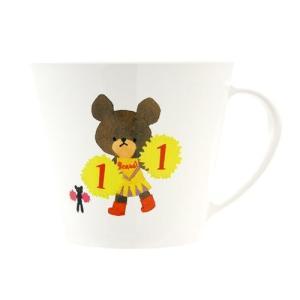 くまのがっこう お誕生日 プラ マグカップ 11月 グッズ プラカップ 絵本キャラクター ヤクセル 250ml|velkommen