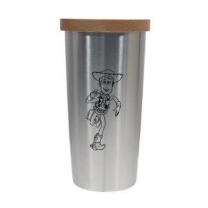 フタ付き 真空ステンレスタンブラー 保温保冷コップ 25周年記念 ウッディ トイストーリー ディズニー ヤクセル 440ml velkommen