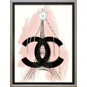アートフレーム オマージュ キャンバスアート マルティナ・パブロバ パリ (Sサイズ) ユーパワー BC-07049|velkommen