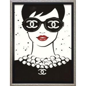 アートフレーム オマージュ キャンバスアート マルティナ・パブロバ レディ (Sサイズ) ユーパワー BC-07050 33x43cm|velkommen