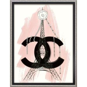 アートフレーム オマージュ キャンバスアート マルティナ・パブロバ パリ (Mサイズ) ユーパワー BC-12049 43.5x56.5cm|velkommen