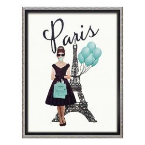 オマージュキャンバスアート アートフレーム アマンダグリーンウッド パリ スタイル Mサイズ ユーパワー|velkommen