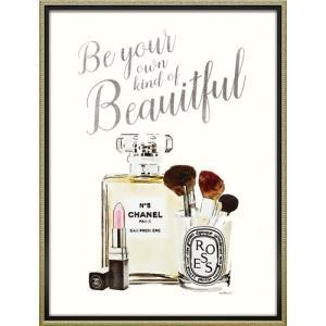 インテリアパネル ブランド キャンバスアート アマンダ グリーンウッド ユア オウン ビューティフル(Lサイズ) ユーパワー 63.5x83.5cm|velkommen