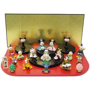 15人 台段雛飾り キャラクターひな人形 ディズニー ディズニー 吉徳|velkommen