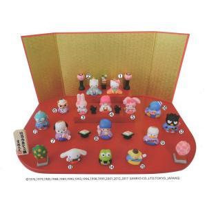 15人 台段雛飾り キャラクターひな人形 ハローキティ サンリオ 吉徳大光 ひな祭り ギフト雑貨|velkommen