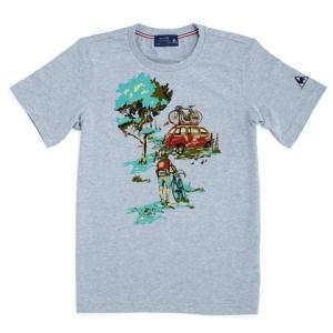 le coq sportif(ルコック) Tシャツ Vintage(ヴィンテージ) グレー【自転車】 velove