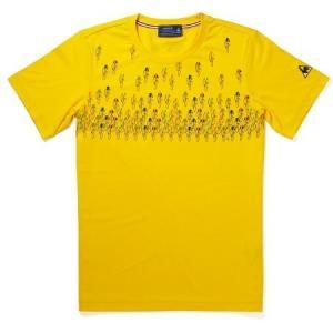 le coq sportif(ルコック) Tシャツ Depart(デパール) イエロー【自転車】 velove